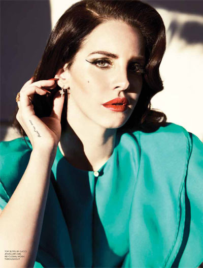 "lana fashion magazine1 Lana Del Rey for ""Fashion"""
