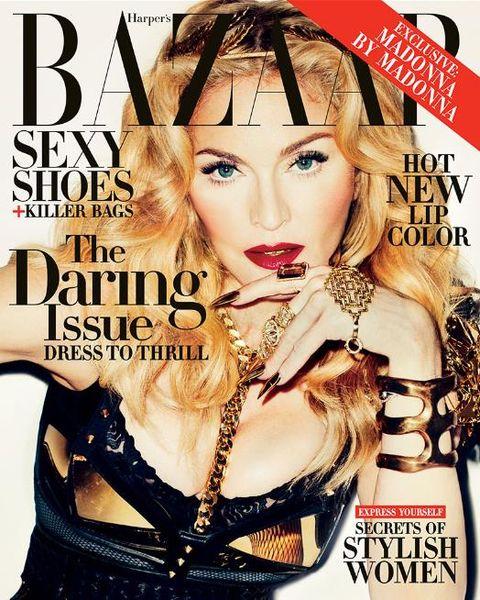 m0 Madonna for Harper's Bazaar