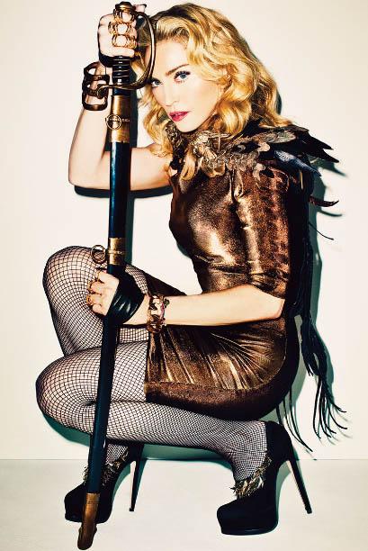 m1 Madonna for Harper's Bazaar