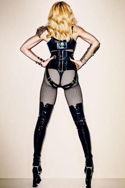 m2 Madonna for Harper's Bazaar