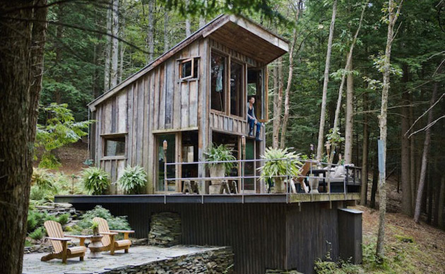 off the grid 14x14 feet cabin in new york 1 Off the grid 14×14 feet Cabin in New York
