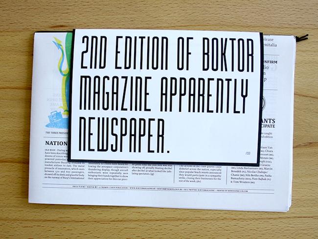 samen11 Boktor Magazine #02   O.H. Buoy