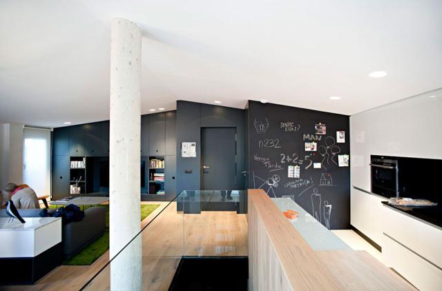 spanish duplex by n232 arquitectura 6 Dainty Spanish Duplex by N232 Arquitectura