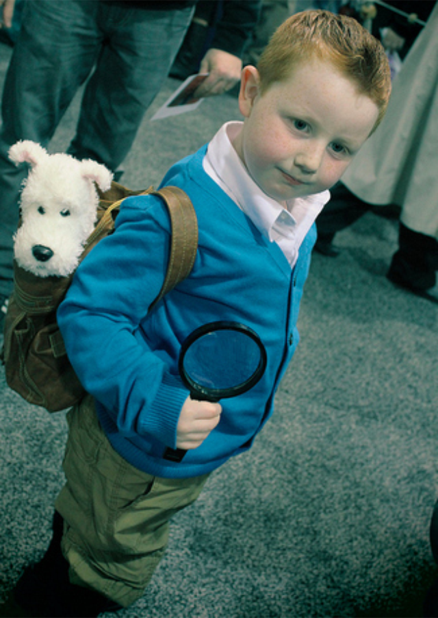 tintin DIY able Costume Ideas for Kids