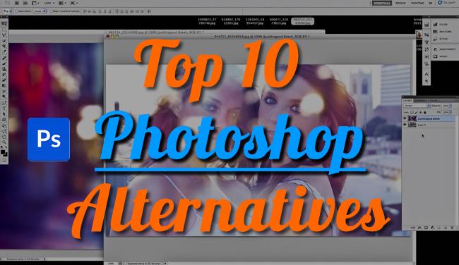 top free photoshop alternatives x Top 10 Free Photoshop Alternatives