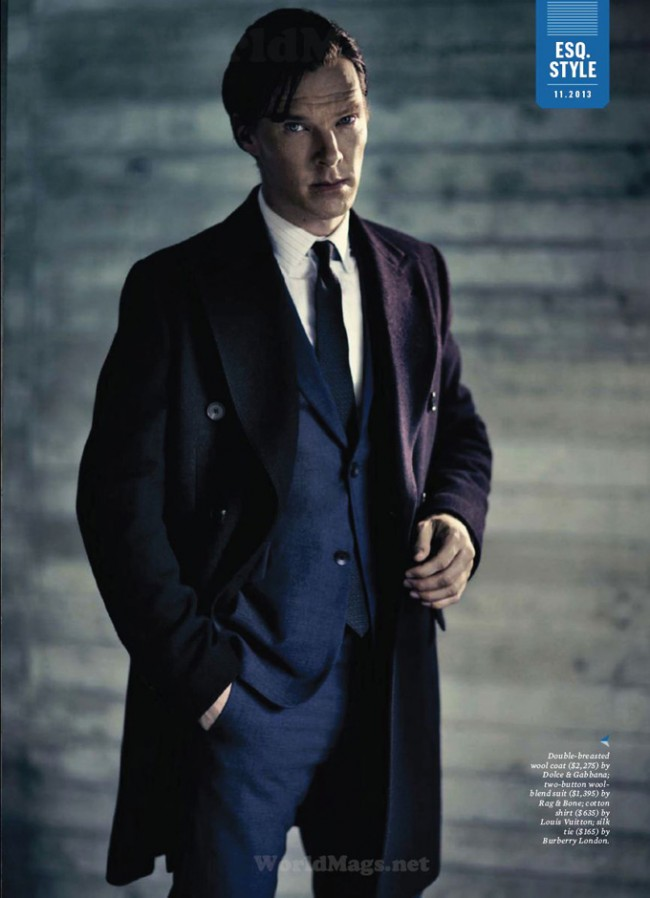 tumblr muescywqW41qdojd4o4 12801 650x898 Benedict Cumberbatch for Esquire US