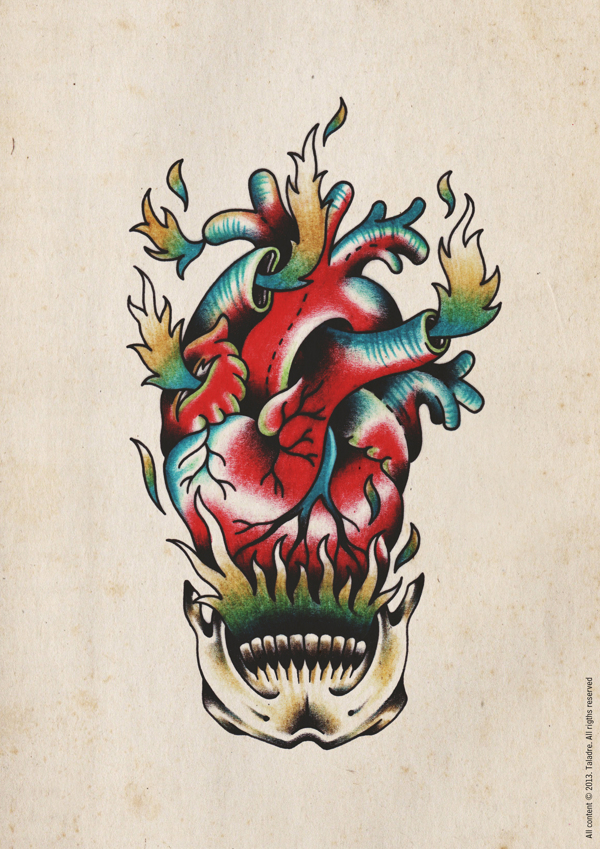 002 flash tattoos taladre studio Flash Tattoos by Taladre Studio