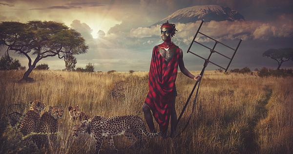 002 tribe maasai lee howel Tribe   Maasai by Lee Howel