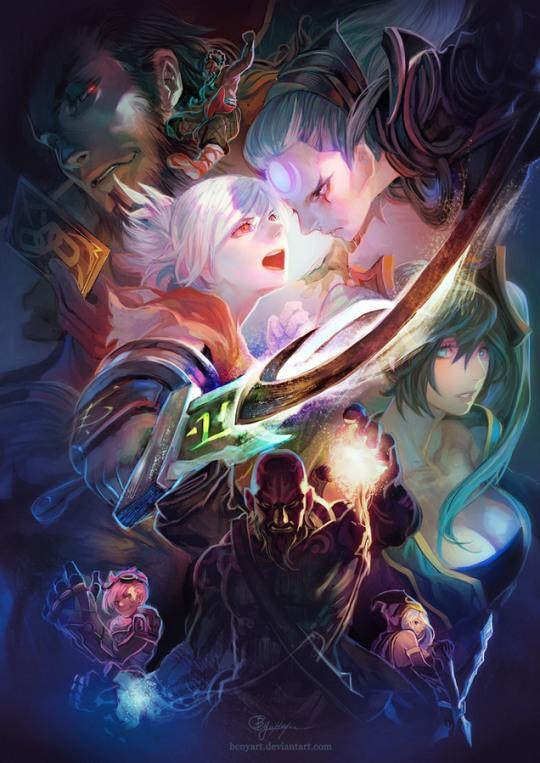 023 anime illustrations bcny Anime Illustrations by B.c.N.y.