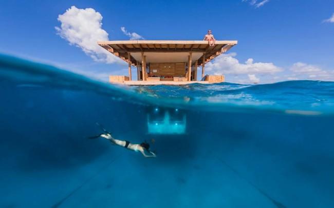 1378426 555416277841034 1418879140 n 650x406 Manta Resort Opens First Underwater Hotel Room