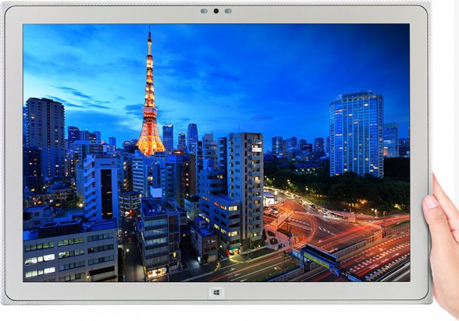4k 4kOverview fig21 650x454 Panasonic Created The Worlds Largest Tablet