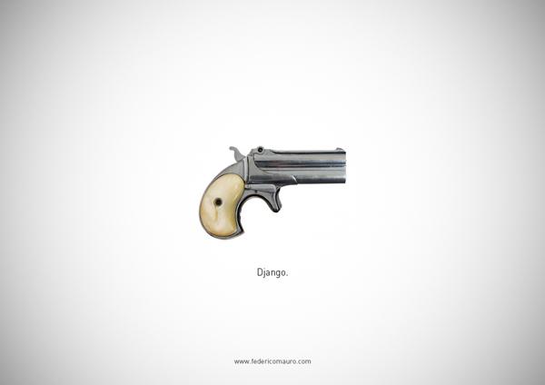 75a875c225b2dfc4a6fd034abaf2b26d Famous Guns by Federico Mauro