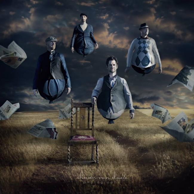 971872 569440719785168 403146520 n1 650x648 From The Bridge: Surreal Band Photography by Shawn Van Daele