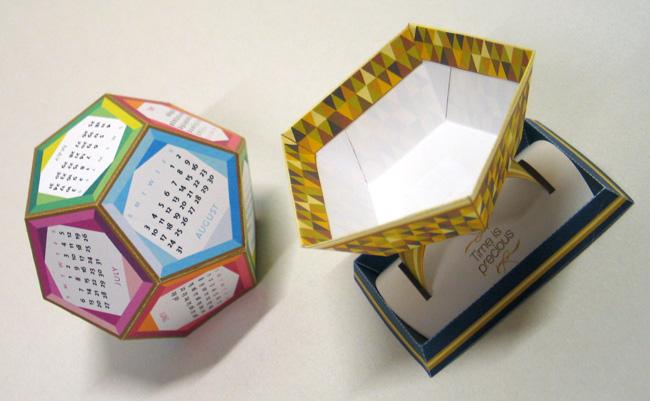DYT021 DIY paper calendar by 3eyedbear