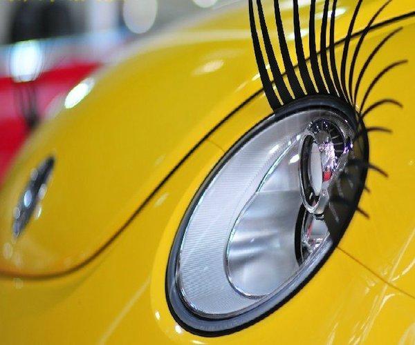 Docooler Car Headlight Eyelashes Stickers Docooler Car Headlight Eyelashes Stickers