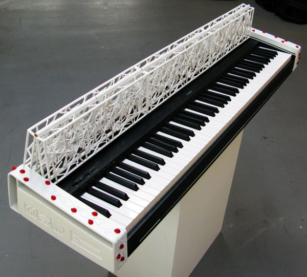 Does Ladybug 3D printed keyboard piano Does Ladybug 3D printed keyboard piano tingle your music taste buds?