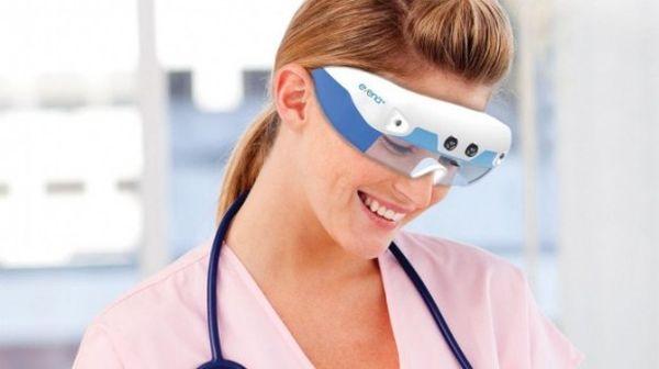 Evena Eye On smart glasses Evena Eye On smart glasses will allow medics to see through skin