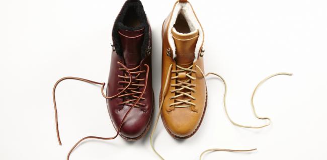 FEIT 1020x500 650x318 FEIT's Hand Sewn Hiker Wool Boot