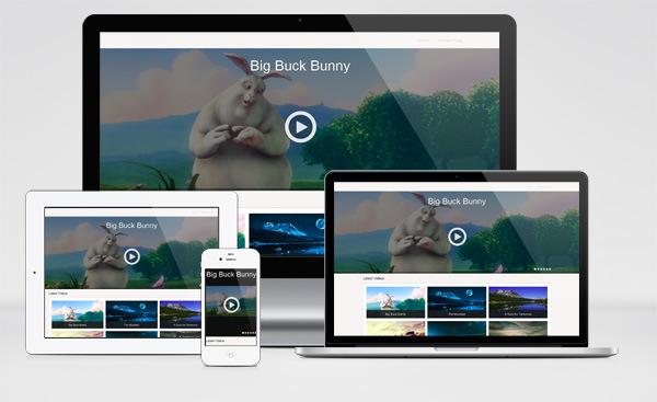Focus Free Responsive Video WordPress Theme : Focus