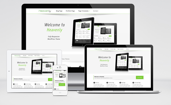 Heavenly  Heavenly – Free Multipurpose WordPress Theme With Responsive Feature