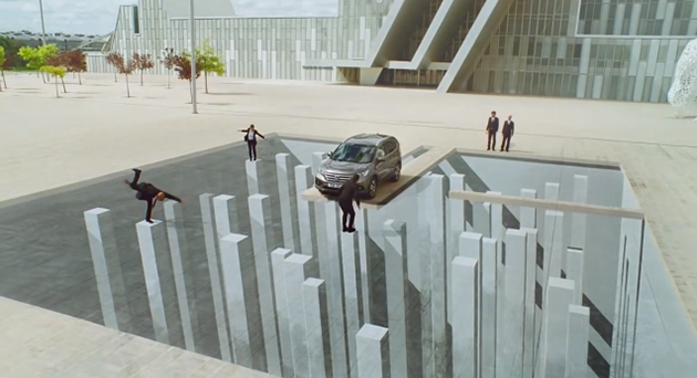 Honda CR V Spot31 Honda shines with optical illusions in new commercial