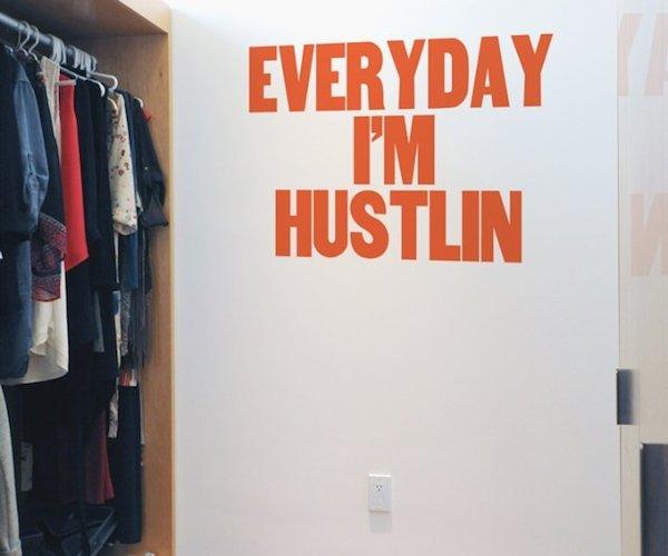 Hustlin' For Paper Jam Press and Blik Wall Decals Hustlin' For Paper Jam Press and Blik Wall Decals