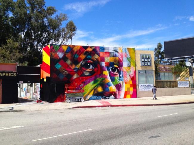 Kobra Labrea REIGN23 2 650x487 Incredible Street Art In Los Angeles