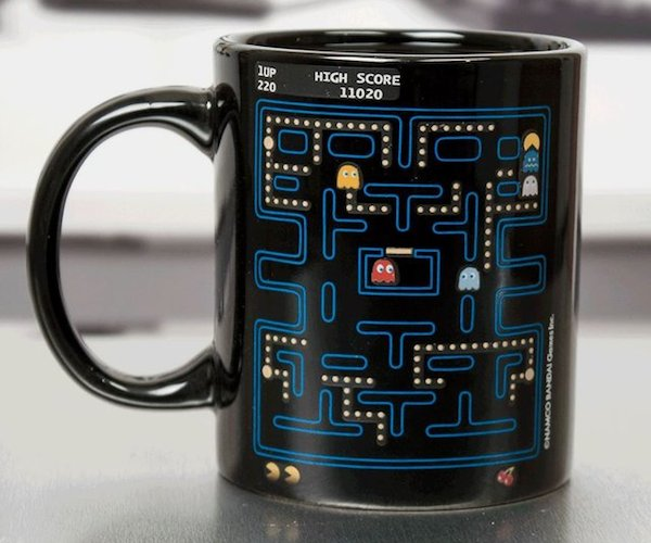 Pac Man Heat Change Mug 1 Some of the Best Gadgets of the Week via The Gadget Flow