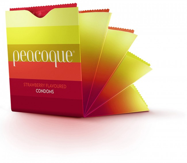 Peacoque 92 650x565 Peacoque   Innovative Condom Packaging