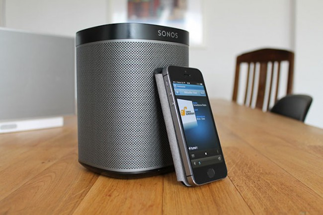 Play 1 Wireless Speakers From Sonos 650x433 Play:1 Wireless Speakers From Sonos