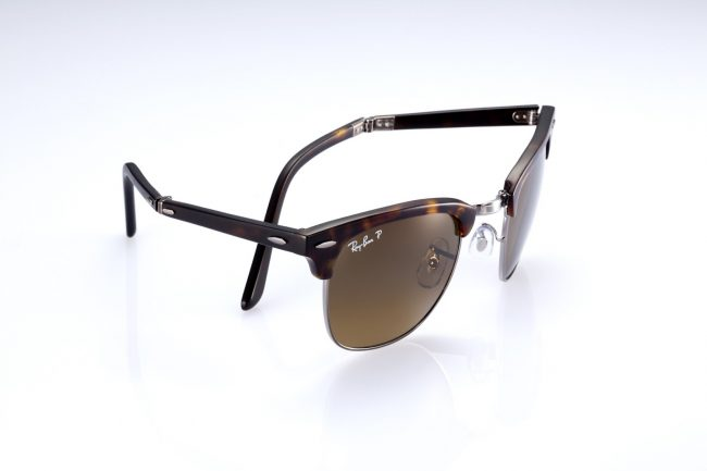 RayBan Folding Clubmaster 2 650x433 Ray Ban Folding Clubmaster