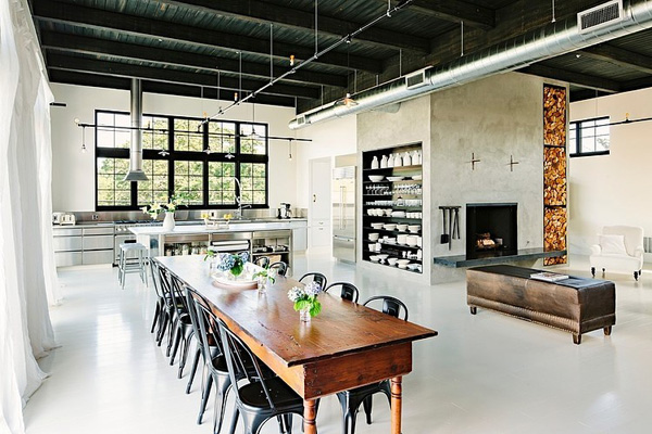SE Division Street Emerick Architects 01 1 Kindesign Building transformed into industrial home in Portland
