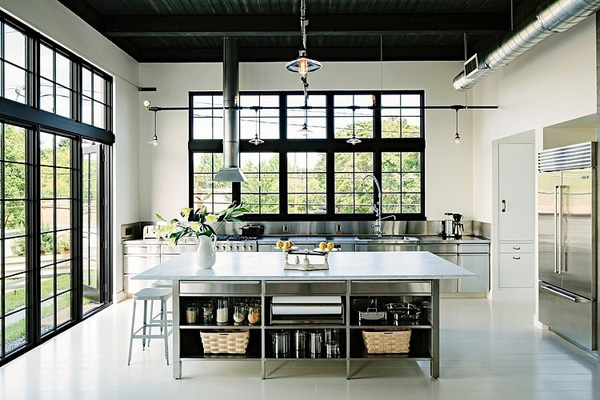 SE Division Street Emerick Architects 02 1 Kindesign Building transformed into industrial home in Portland