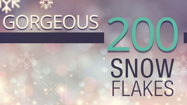 Snowflakes Icons 650x366 Free Snowflakes Icons for Your Projects