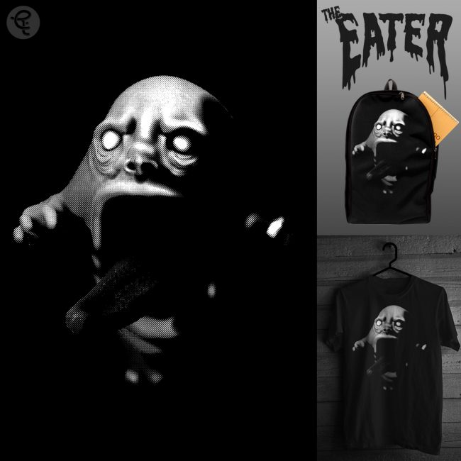 Tee Template 1200x12002 650x650 THE EATER By  CHRIS RW