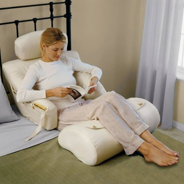 The BedLounge Hypoallergenic Bed Rest Pillow The BedLounge Hypoallergenic Bed Rest Pillow