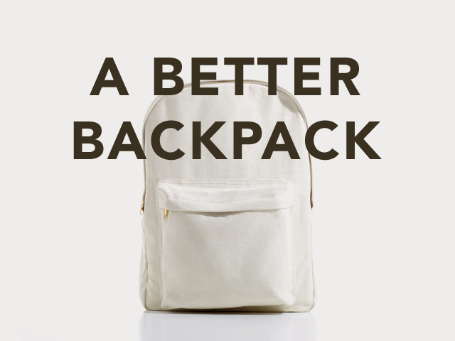 a better backpack A Better Backpack: A Backpack Reincarnated as a Backpack, as a Backpack, as a Backpack...