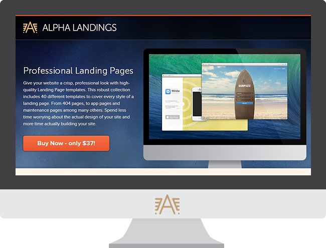 alfa1 Giveaway for DYT Readers: Get 40 Landing Pages for Free from Alpha Landings!
