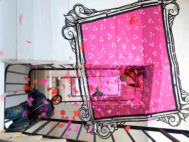 anamorphic places8 Anamorphic Optical Illusions by Ella and Pitr