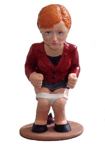 caganer angela merkel1 Caganer Angela Merkel