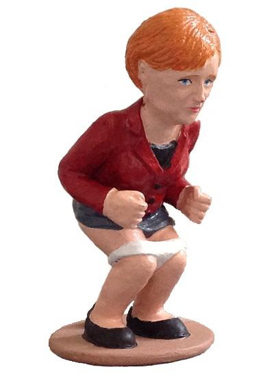 caganer angela merkel2 Caganer Angela Merkel
