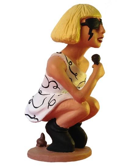 caganer lady gaga2 Caganer Lady Gaga