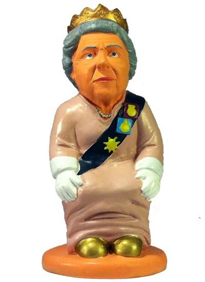 caganer queen elizabeth1 Caganer Queen Elizabeth II