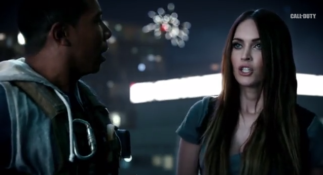 callof Call of Duty   Ghosts ft Megan Fox (Trailer)