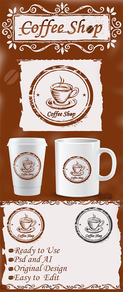 coffee logo Logo For Coffee Shop