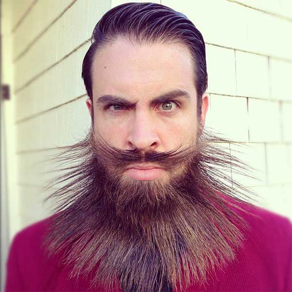 creative beard1 IncrediBeard: Creative Beard Styles by Isaiah Webb