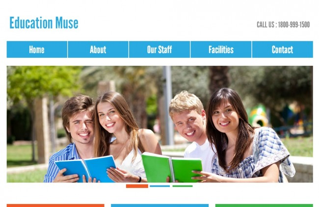 education muse 650x422 Education Muse – Multipurpose Muse Template