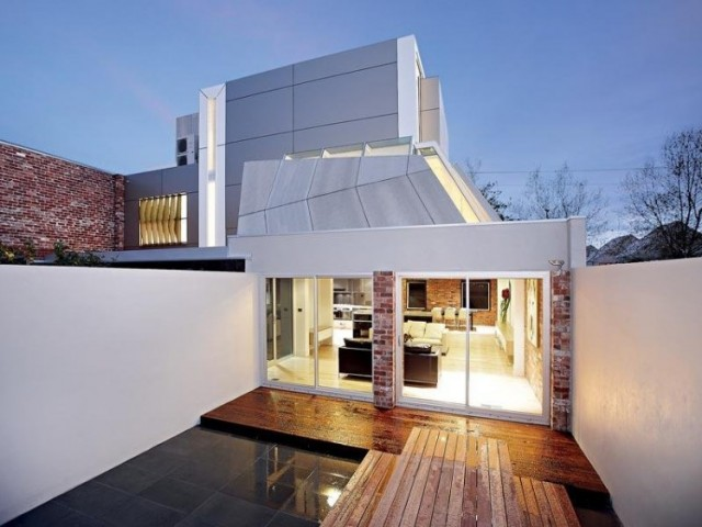 former fire station transformed into a contemporary home 2 640x480 Former Fire Station Transformed Into a Contemporary Home