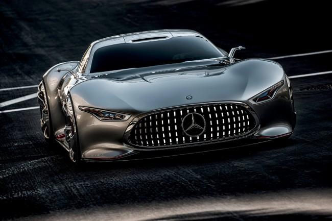 mercedes benz amg vision gran turismo concept01 650x433 Mercedes Benz AMG Vision Gran Turismo Concept Revealed