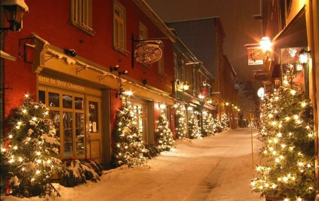 mydesignweek quebeccity christmas1 10 Most Festive Christmas Cities